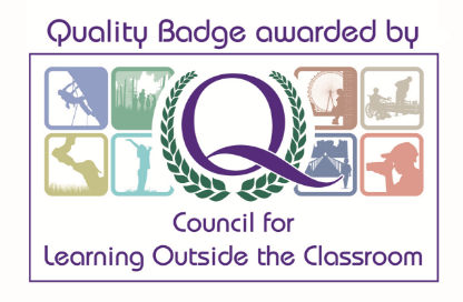 Quality badge awarded by Council for Learning Outside the Classroom